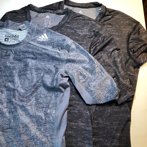 adidas Other - Men's adidas 1/2 Sleeve Compression Shirts size M